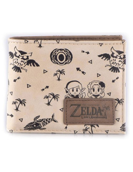 The Legend Of Zelda Links Awakening Portefeuille multicolore