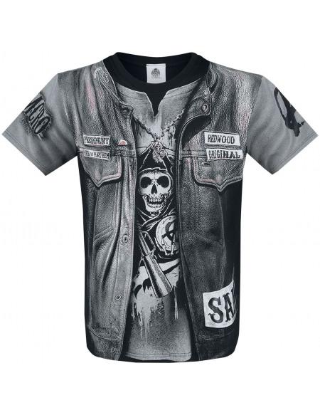 Sons Of Anarchy Jax Teller T-shirt noir