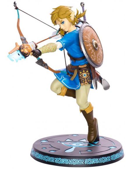 The Legend Of Zelda Breath Of The Wild - Link Figurine de collection multicolore