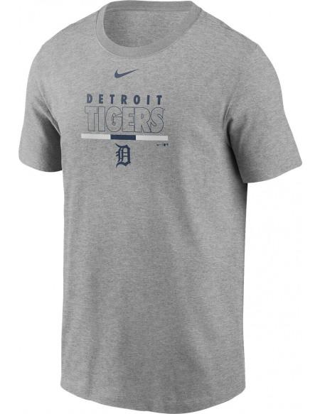MLB Nike - Detroit Tigers T-shirt gris sombre chiné