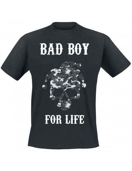 Bad Boy For Life T-shirt noir