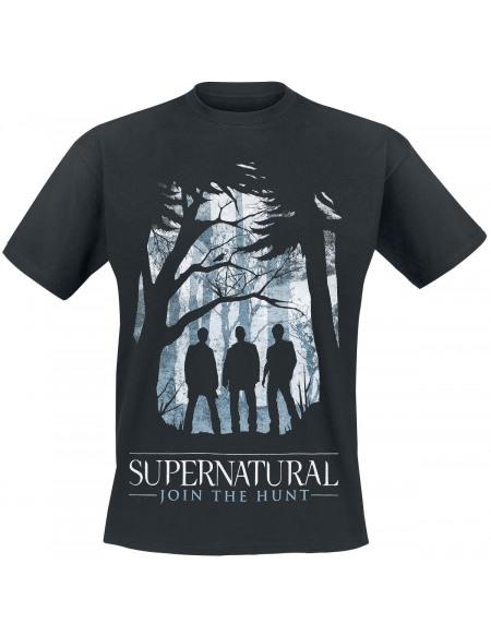 Supernatural Silhouettes T-shirt noir