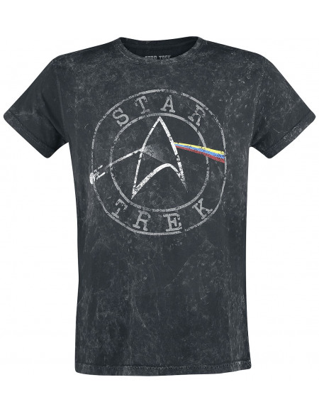 Star Trek Space - The Final Frontier T-shirt gris