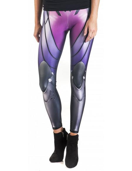 Overwatch Wild Bangarang - Widowmaker Cosplay Legging multicolore