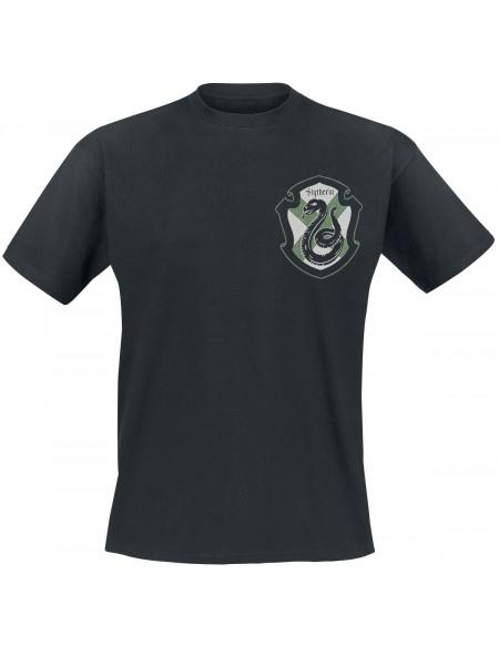 Harry Potter Serpentard T-shirt noir
