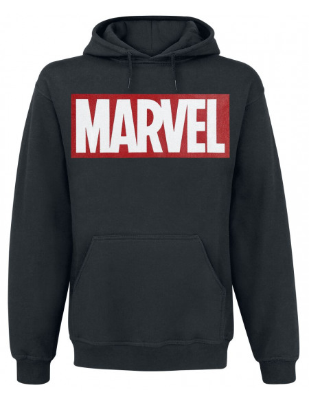 Marvel Logo Sweat à capuche noir