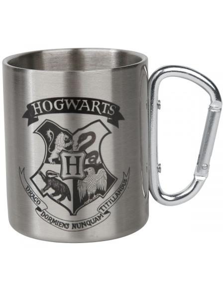 Harry Potter Poudlard - Mug Avec Mousqueton Mug couleur argent