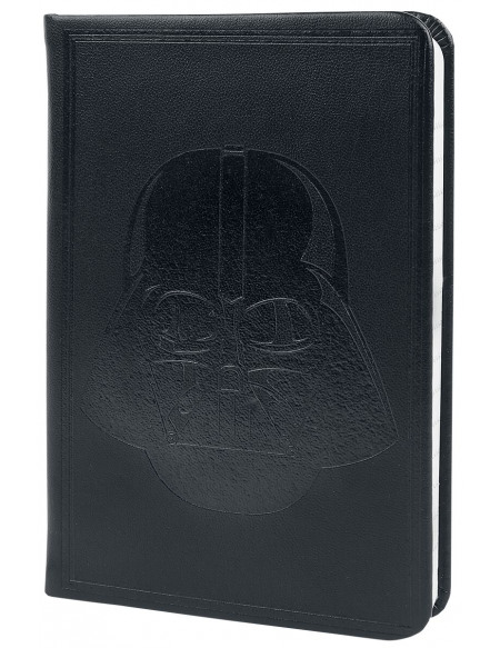 Star Wars Dark Vador - Carnet De Notes A6 Pocket Premium Cahier noir
