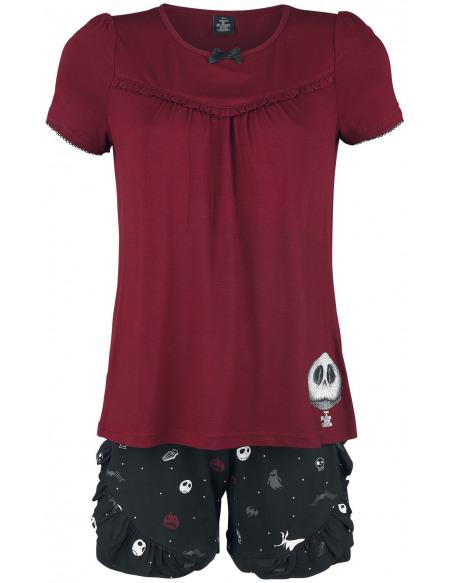 L'Étrange Noël De Monsieur Jack Jack Goes Fashion Pyjama rouge/noir