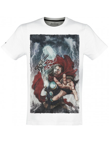 Avengers The Game - Thor T-shirt blanc