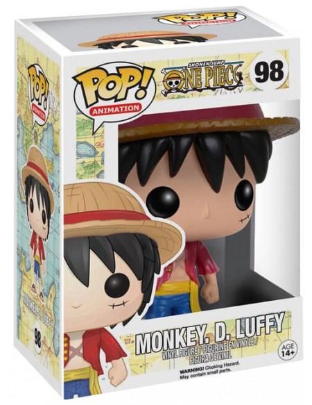 Figurine Funko Pop One Piece Monkey D. Luffy 9 cm