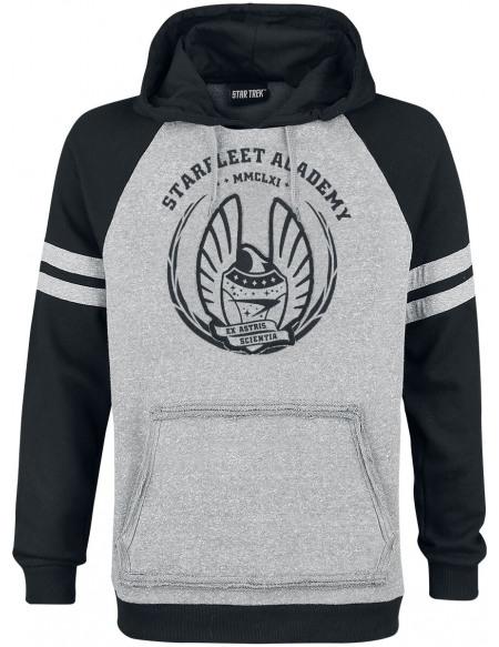 Star Trek Starfleet Academy Sweat à capuche gris/noir