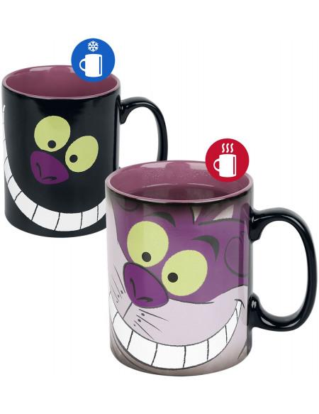 Alice Au Pays Des Merveilles Le Chat Du Cheshire - Mug Thermoréactif Mug multicolore