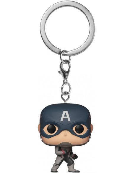Avengers Endgame - Captain America - POP! Keychain Porte-clés Standard
