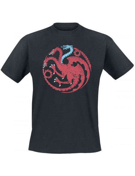 Game Of Thrones Targaryen - Viserion T-shirt noir