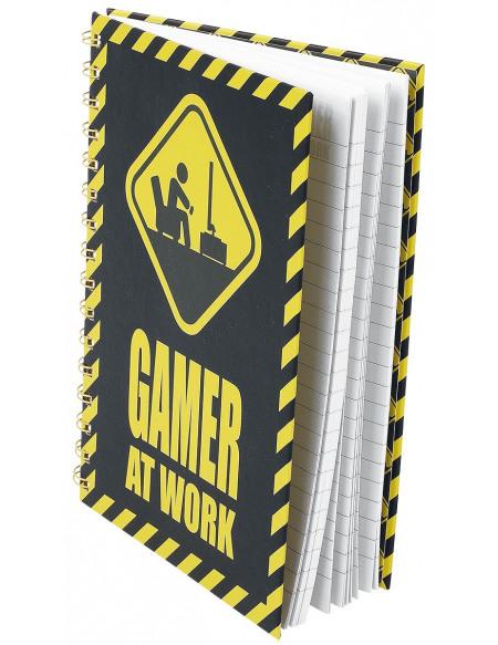 Gamer At Work Notizbuch Cahier Standard