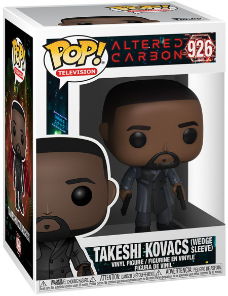 Altered Carbon Takeshi Kovacs (Wedge Sleeve) - Funko Pop! n°926 Figurine de collection Standard