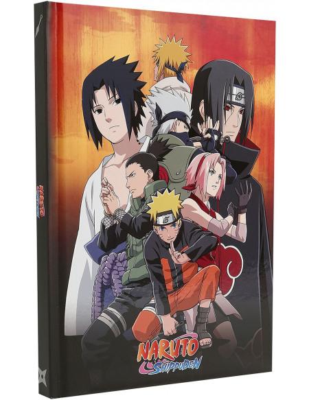 Naruto Naruto Shippuden - Groupe Konoha Cahier Standard