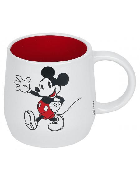 Mickey & Minnie Mouse Hello Folks Mug multicolore