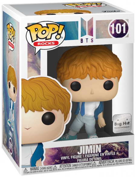 Figurine Funko Pop Rock BTS Jimin 10 cm