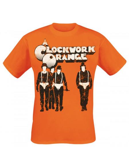Clockwork Orange Groupe T-shirt orange