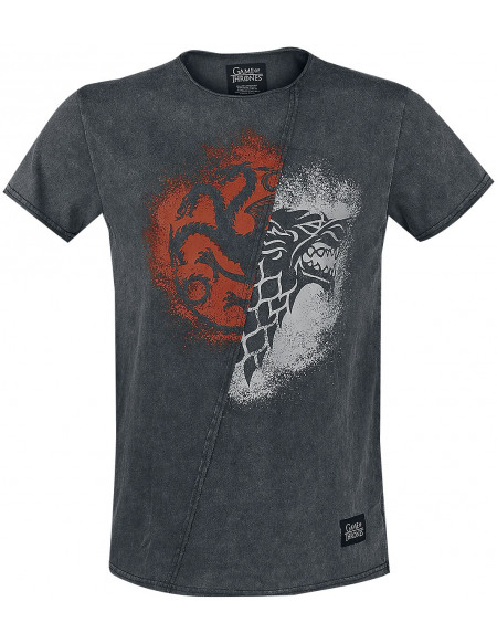 Game Of Thrones Game of Thrones T-shirt gris
