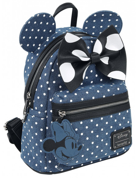 Mickey & Minnie Mouse Loungefly - Minni Sac à Dos bleu