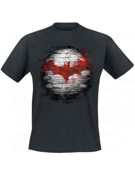 Batman Logo Tag T-shirt noir