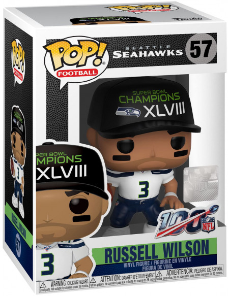 NFL Seattle Seahawks - Funko Pop! n°57 Figurine de collection Standard