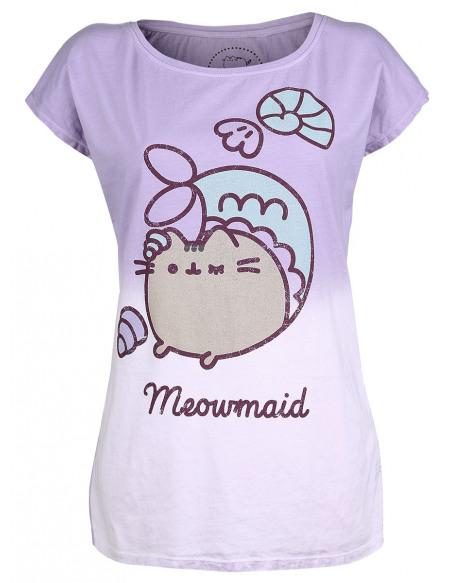 Pusheen Meowmaid T-shirt Femme violet