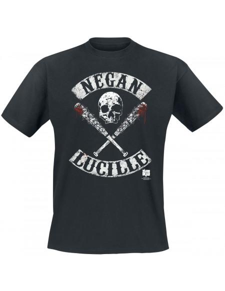 The Walking Dead Negan Lucille T-shirt noir