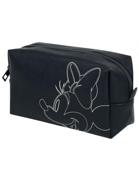 Mickey & Minnie Mouse Minnie Maus Trousse de Toilette noir/blanc