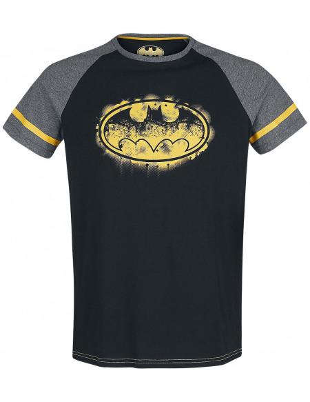 Batman T-shirt noir/gris chiné