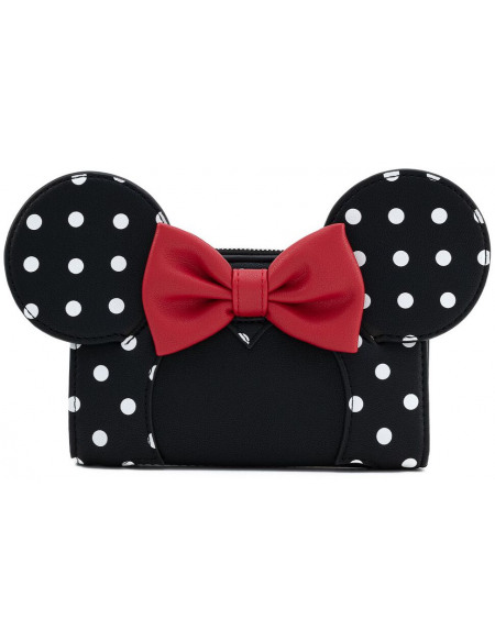 Mickey & Minnie Mouse Loungefly - Minnie Portefeuille Standard
