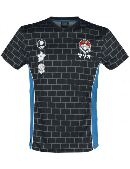 Super Mario 85 T-shirt noir/bleu