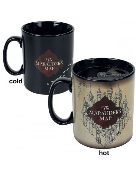 Mug thermoréactif Harry Potter - 460ml - Maraudeur