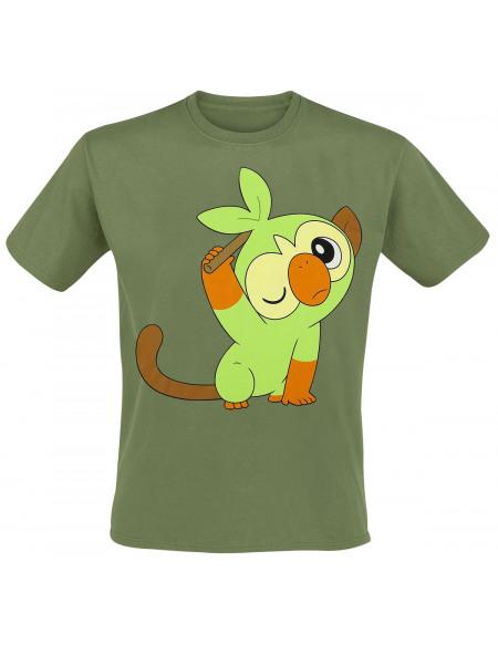 Pokémon Pokémon Épée & Bouclier - Ouistempo T-shirt vert