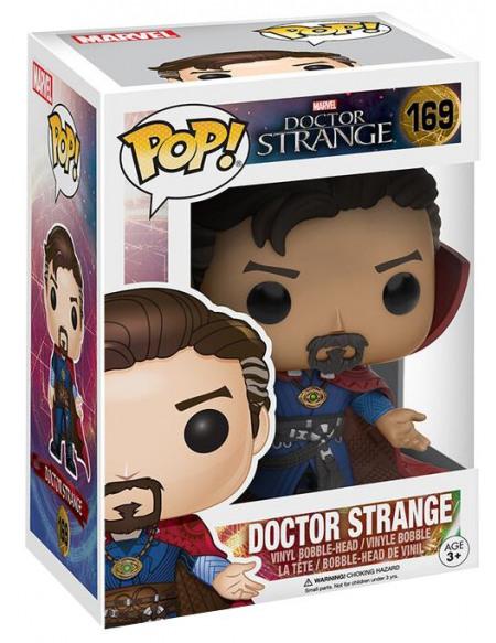 Doctor Strange Figurine Bobblehead En Vinyle Docteur Strange 169 Figurine de collection Standard