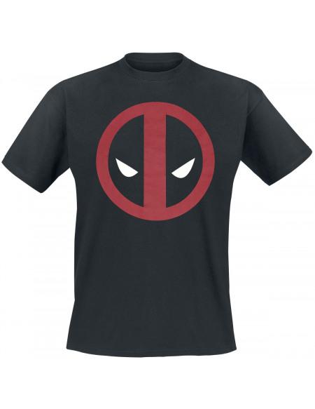 Deadpool Logo T-shirt noir
