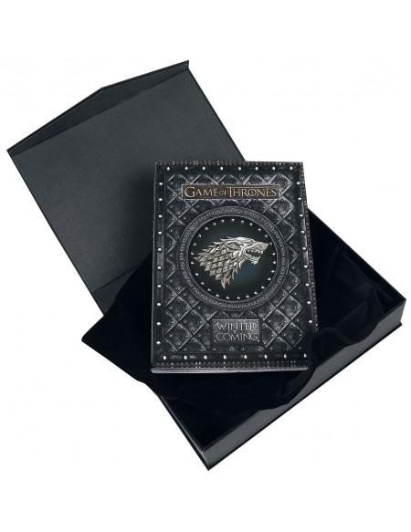 Game Of Thrones Carnet Winter Is Coming Cahier noir