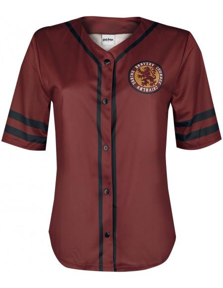 Harry Potter Gryffondor T-shirt Femme rouge