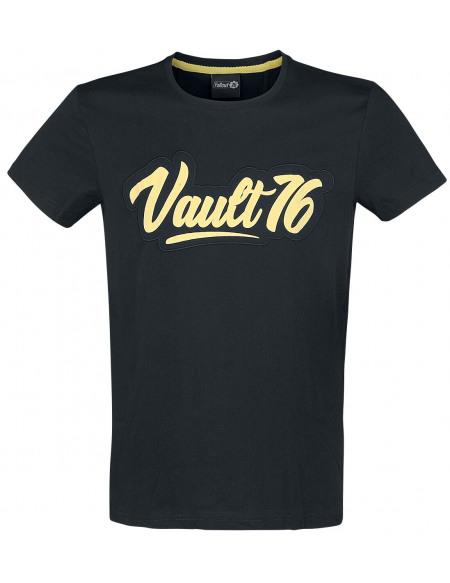 Fallout 77 - Vault 76 T-shirt noir