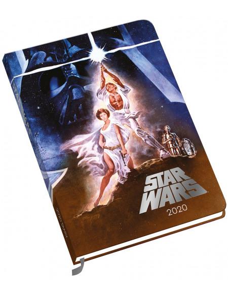 Star Wars Star Wars - Agenda A5 2020 Agenda multicolore