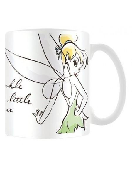 Peter Pan Fée Clochette Mug blanc
