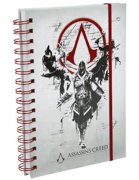 Assassin's Creed Legacy Cahier multicolore