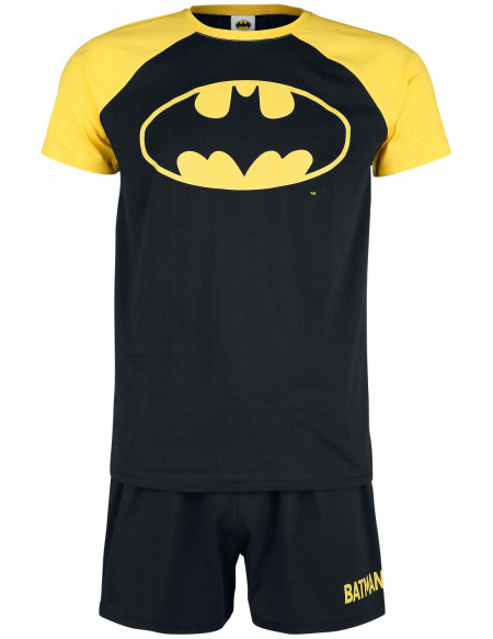 Batman Symbole Pyjama noir/jaune