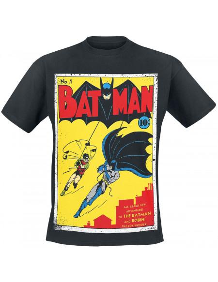 Batman Adventures Of The Batman And Robin T-shirt noir