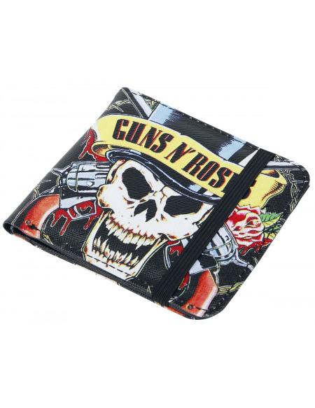 Guns N' Roses Skull N' Guns Portefeuille noir