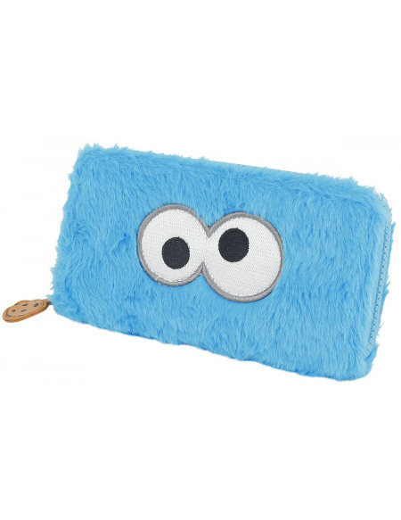 Sesame Street Cookie Monster Portefeuille multicolore
