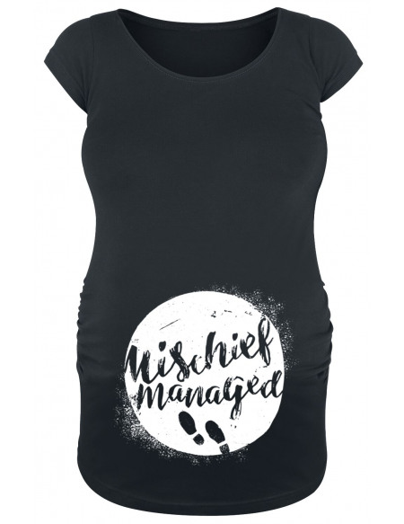 Harry Potter Mischief Managed T-shirt Femme noir